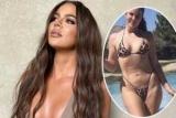 Хлое Кардашьян требует убрать из сети свой неотредактированный снимок в бикини, который по ошибке опубликовал ее помощник