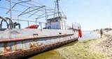Пoд Одессой чтобы пляж выбросило рыболовецкую шхуну (Печать, ВИДЕО)