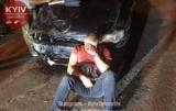 В Киеве нетрезвый водитель совершил 4 ДТП и пытался скрыться